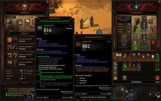 Diablo 3 inventory