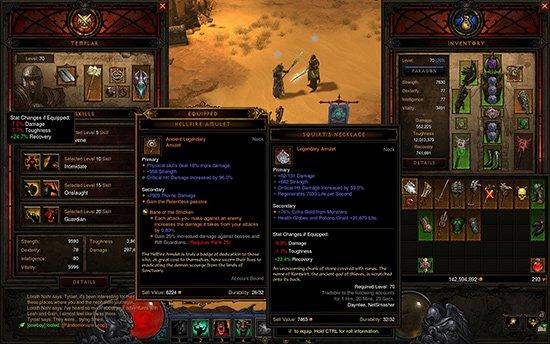 Diablo 3 tooltips