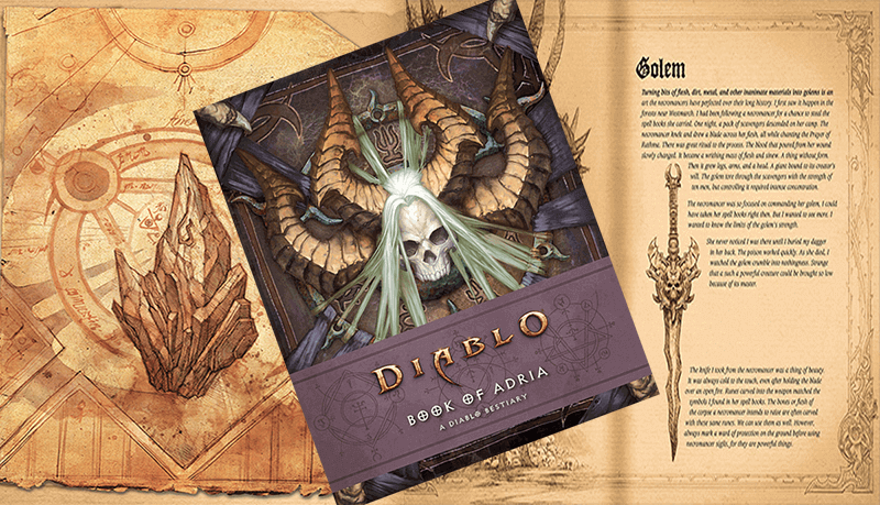 Diablo III Book of Adria cover