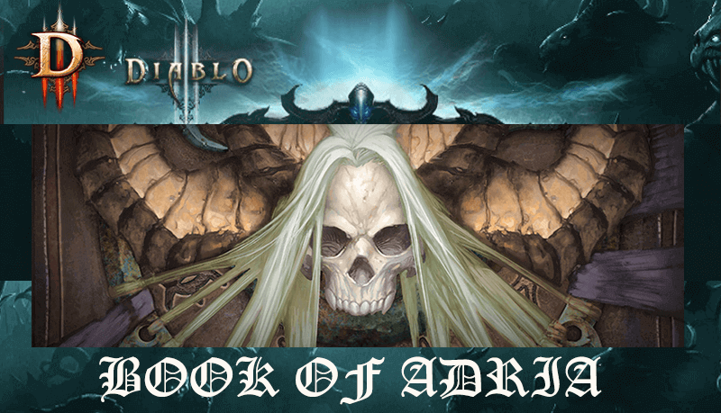 Diablo III Book of Adria
