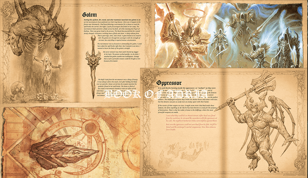 Diablo III Book of Adria pages
