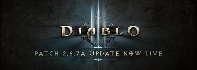 Diablo Patch 2.6.7a update