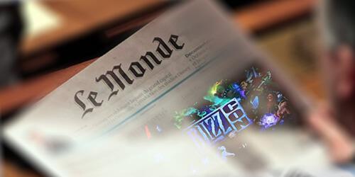 Diablo 4 in Le Monde newspaper