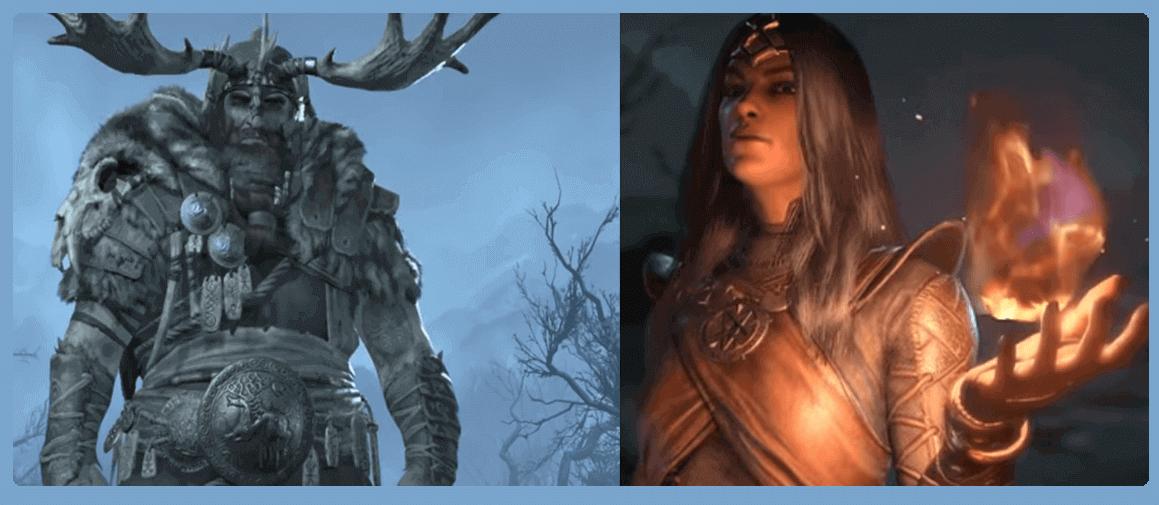 Diablo IV characters
