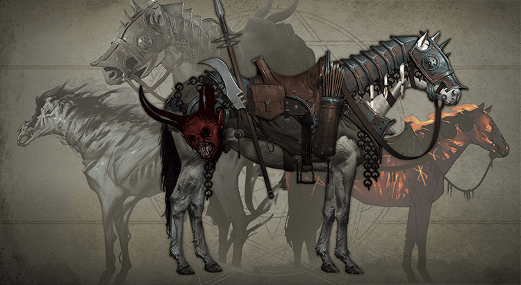 Diablo IV horses