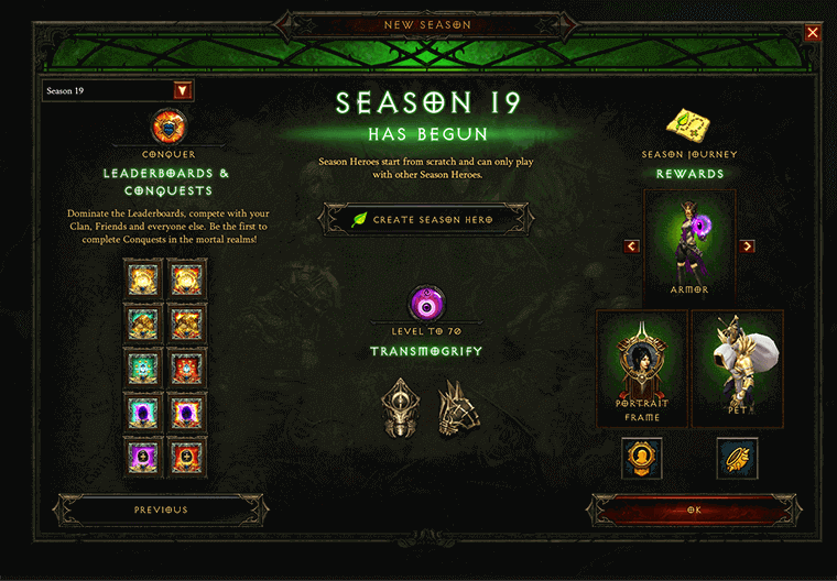 season 19 leaderboard and rewards