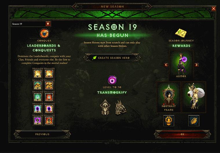 season 19 leaderboard and rewards