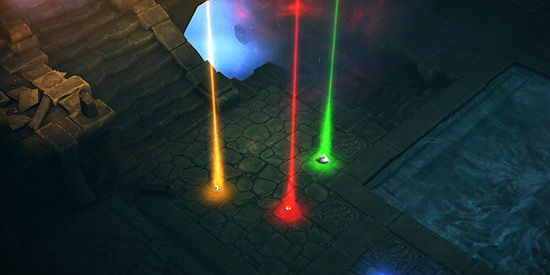 Legendary Changes Colored Beam