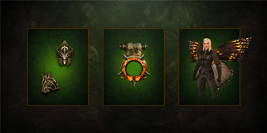 New Cosmetic Rewards