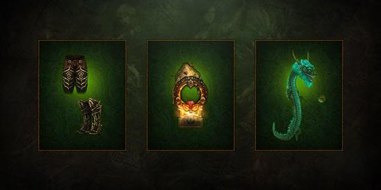 Diablo Season 23 - Three cosmetic rewards