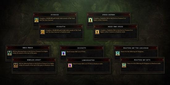 Diablo Season 23 - Seasonal Conquests